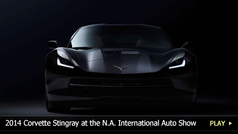 2014 Corvette Stingray at the NA International Auto Show