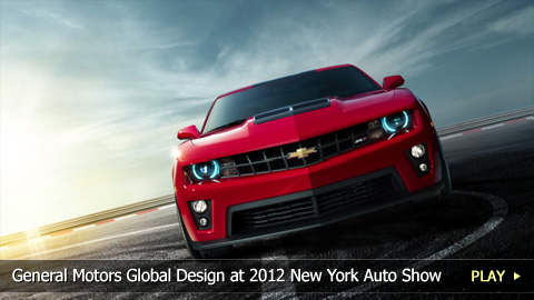 General Motors Global Design at 2012 New York Auto Show