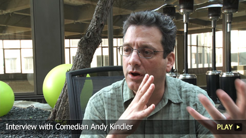 Interview with Comedian Andy Kindler
