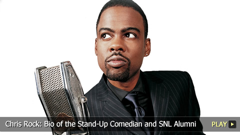 Chris Rock: Bio of the Stand-Up Comedian and SNL Alumni