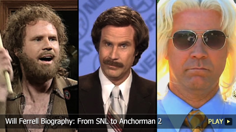 Will Ferrell Biography: From SNL to Anchorman 2
