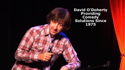 Interview With Comedian David O'Doherty