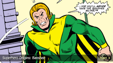 Superhero Origins: Banshee