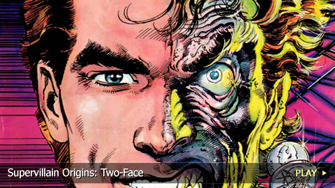 Supervillain Origins: Two-Face
