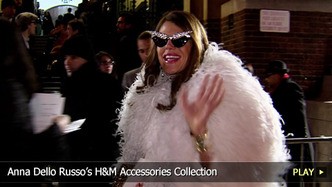 Anna Dello Russo's H and M Accessories Collection