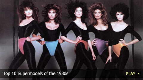 Top 10 Supermodels of the 1980s