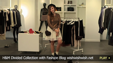 H and M Divided Collection with Fashion Blog wishwishwish.net