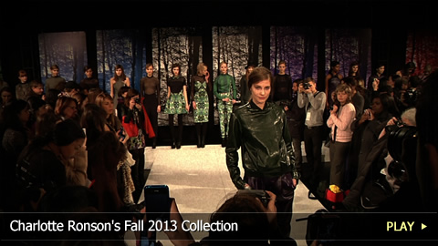 Charlotte Ronson's Fall 2013 Collection at Mercedes-Benz Fashion Week: New York
