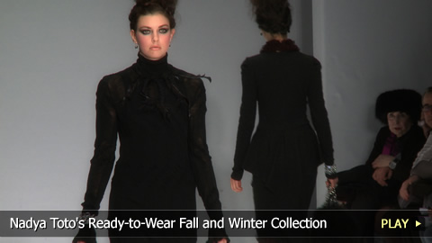 Nadya Toto's Ready-to-Wear Fall and Winter Collection