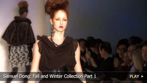 Samuel Dong: Fall and Winter Collection Part 1