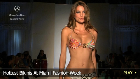 Hottest Bikinis At Miami Fashion Week