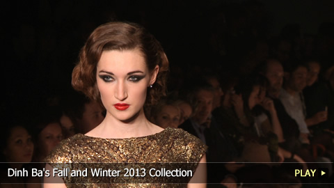 Dinh Ba's Fall and Winter 2013 Collection