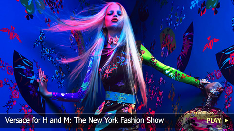 Versace for H and M: The New York Fashion Show