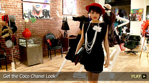 Get the Coco Chanel Look