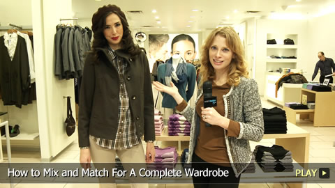 How To Mix and Match For A Complete Wardrobe