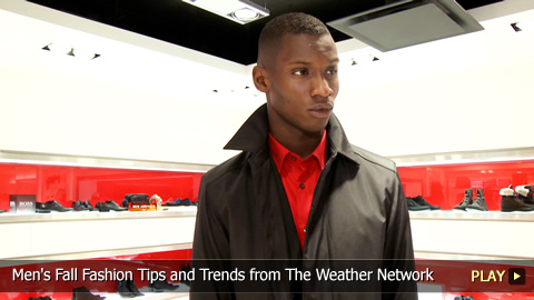 Men's Fall Fashion Tips and Trends from The Weather Network