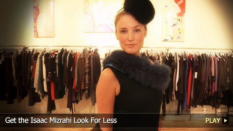 Get the Isaac Mizrahi Look For Less