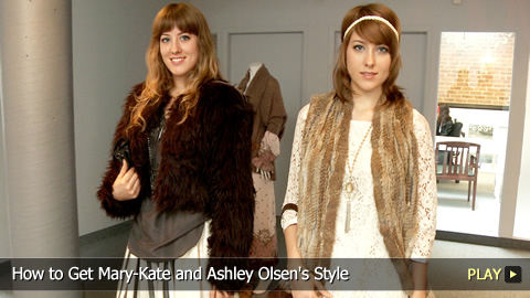 How to Get Mary-Kate and Ashley Olsen's Style