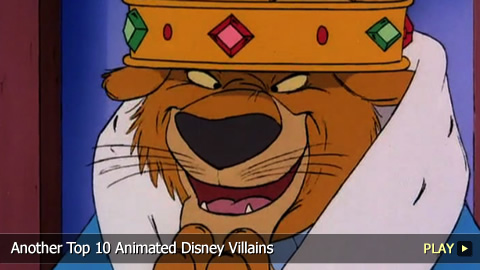 Another Top 10 Animated Disney Villains