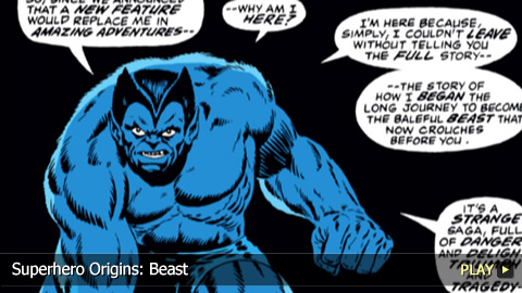 Superhero Origins: Beast