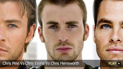 Chris Pine Vs Chris Evans Vs Chris Hemsworth: Actor Showdown