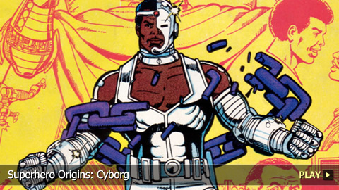 Superhero Origins: Cyborg