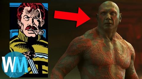 Superhero Origins: Drax the Destroyer