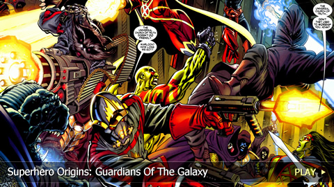 Superhero Origins: Guardians Of The Galaxy