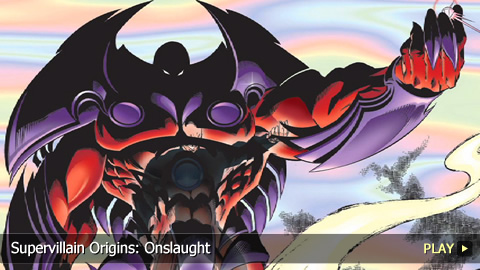 Supervillain Origins: Onslaught