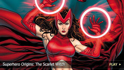 Superhero Origins: The Scarlet Witch