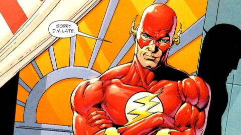 Superhero Origins: The Flash, Barry Allen