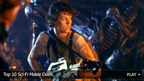 Top 10 Sci-Fi Movie Duels