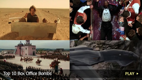 Top 10 Box Office Bombs