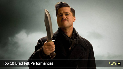 Top 10 Brad Pitt Performances