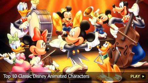 Top 10 Classic Disney Animated Characters