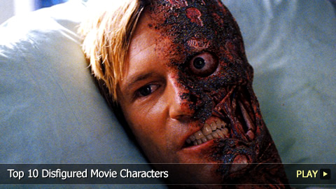 Top 10 Disfigured Movie Characters