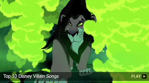 Top 10 Disney Villain Songs
