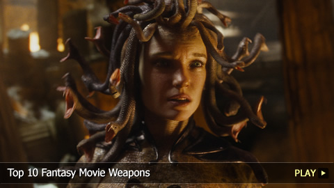 Top 10 Fantasy Movie Weapons
