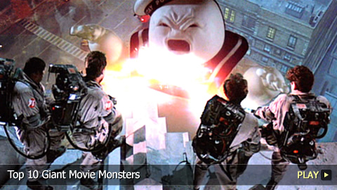 Top 10 Giant Movie Monsters