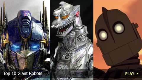 Top 10 Greatest Giant Movie Robots