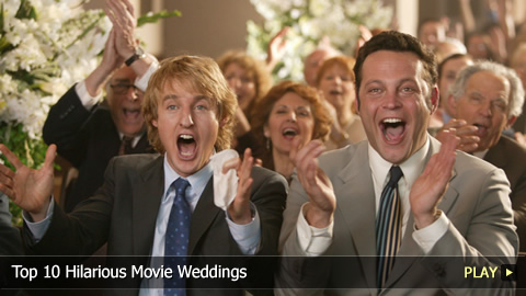 Top 10 Hilarious Movie Weddings