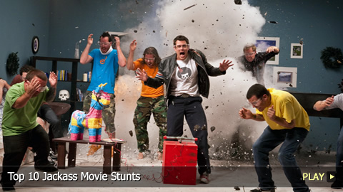 Top 10 Best Jackass Movie Stunts