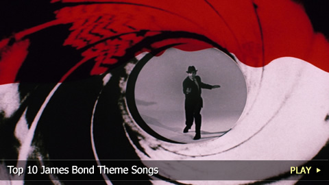 Top 10 Best James Bond Theme Songs