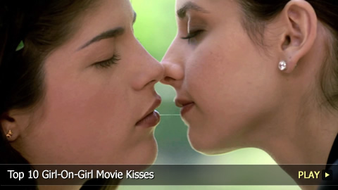 Top 10 Girl-On-Girl Movie Kisses