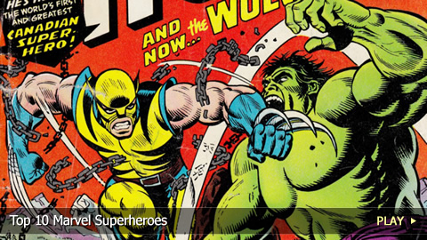 Top 10 Marvel Superheroes