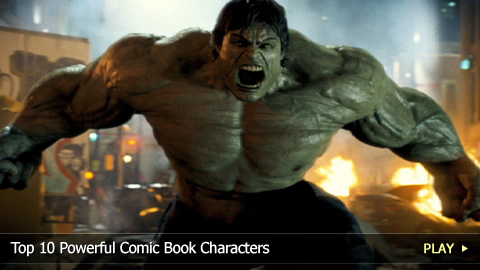 Top 10 Powerful Comic Book Characters