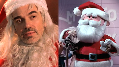 Top 10 Movie Santas