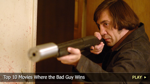 Top 10 Movies Where the Bad Guy Wins