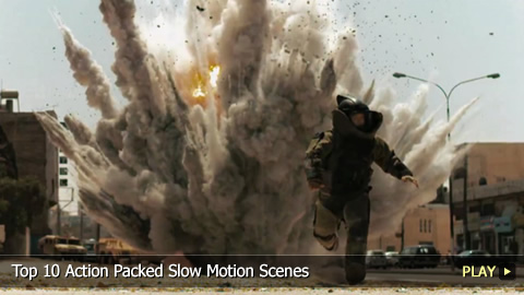 Top 10 Action Packed Slow Motion Scenes