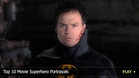 Top 10 Movie Superhero Portrayals